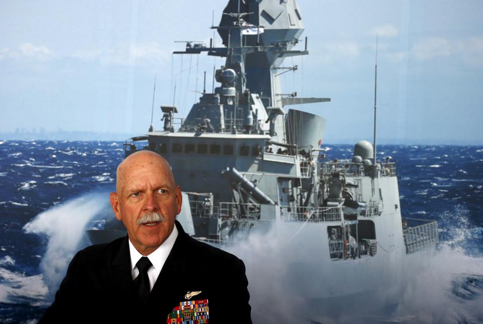File photo of Admiral Scott Swift, the commander of the US Pacific Fleets.