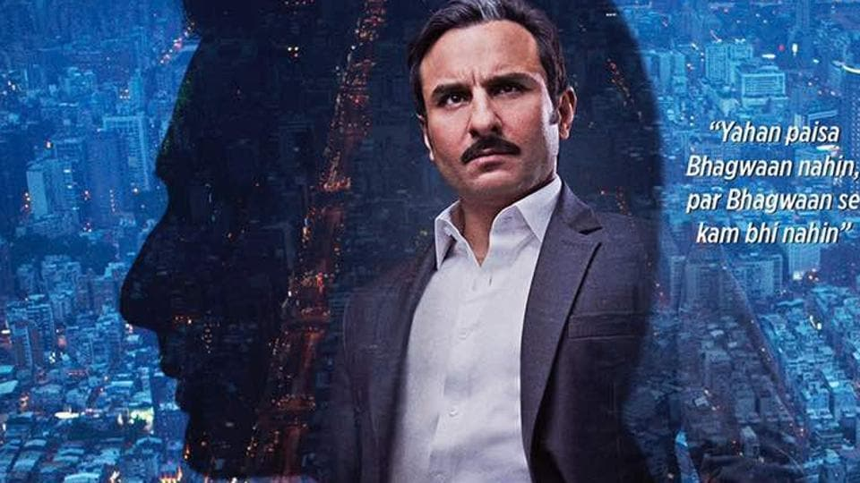 Saif .Ali Khan was last seen in Rangoon opposite Kangana Ranaut. He is likely to be playing a stock broker in Bazaar.