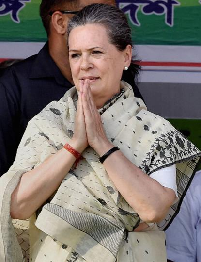 Congress president Sonia Gandhi was admitted to Delhi's Ganga Ram hospital  for food poisoning.