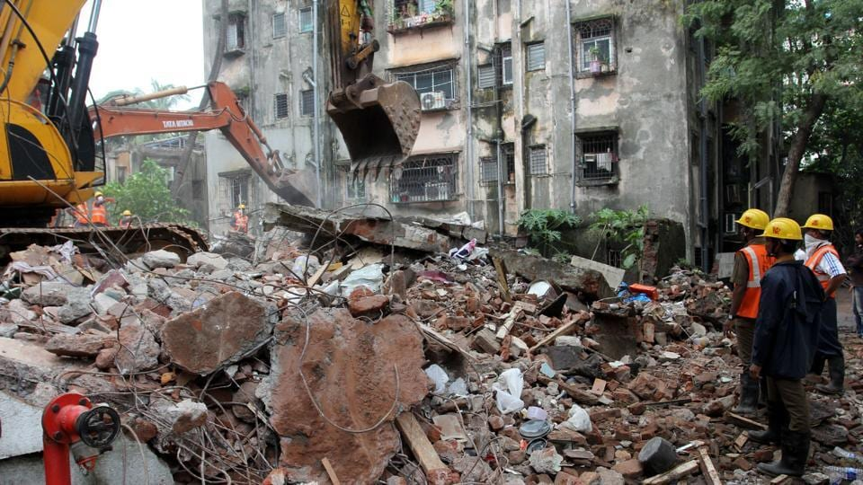 Krishna Niwas, which collapsed in 2015, killing 12 people and injuring seven.