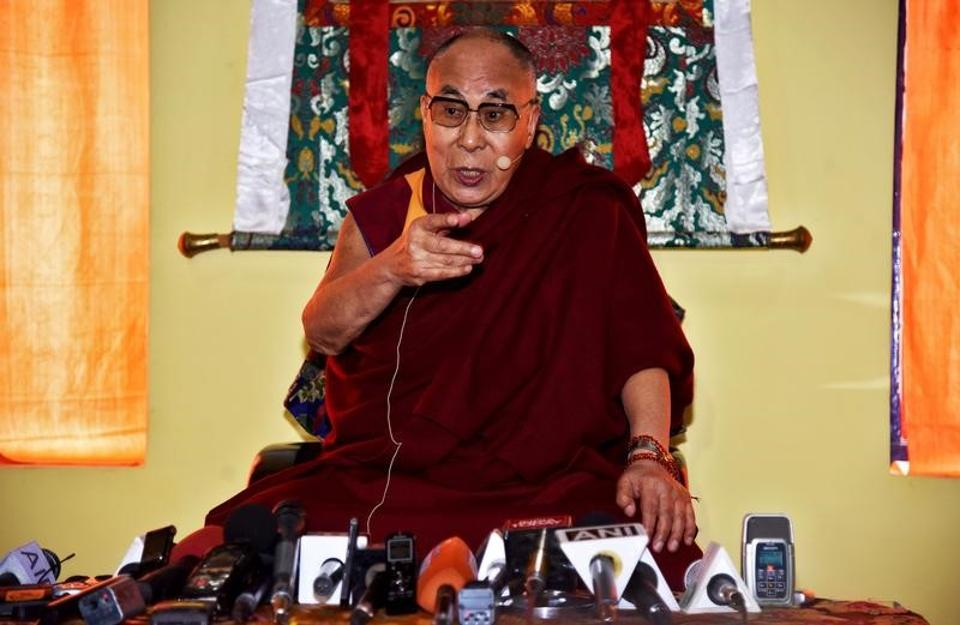 File photo of the Dalai Lama in Arunachal Pradesh on April 8.