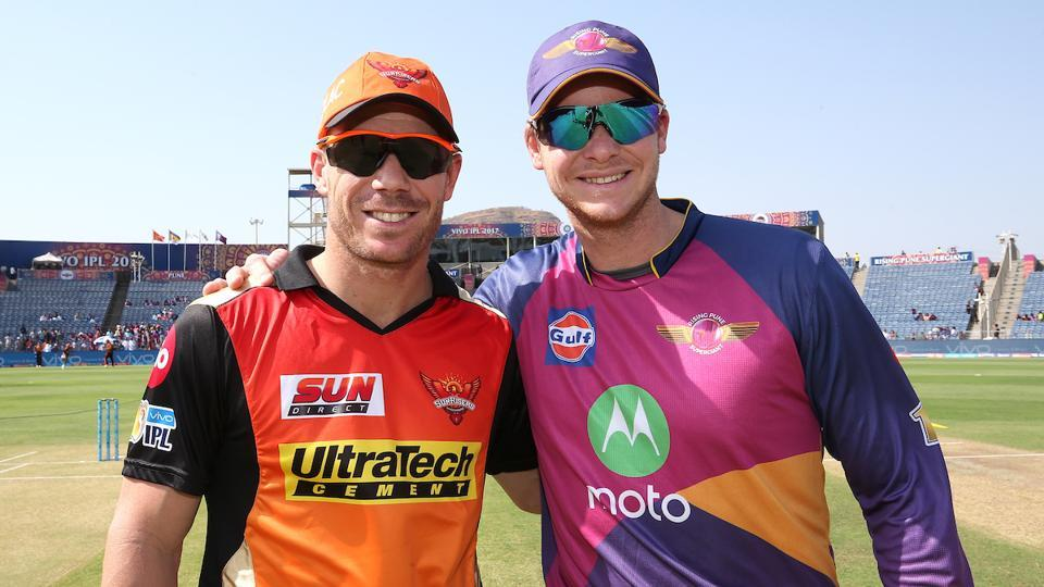 Sunrisers Hyderabad captain David Warner will hope for a win against Rising Pune Supergiant, led by Steve Smith, in Indian Premier League (IPL) 2017.