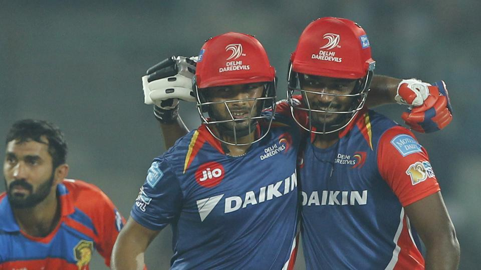 Rishabh Pant and Sanju Samson guided Delhi Daredevils to a comprehensive seven-wicket victory over Gujarat Lions in the2017 Indian Premier Leagueat the Feroz Shah Kotlain New Delhi on Thursday. (BCCI)