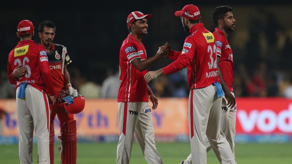 IPL 2017,Live cricket score,RCB vs KXIP