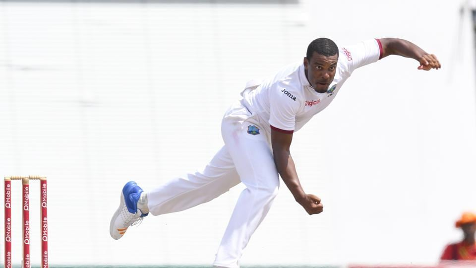 Shannon Gabriel of West Indies took 5/11 to guide his team to a 106-run win over Pakistan in the second Test at Kensington Oval, Bridgetown, Barbados on Thursday.
