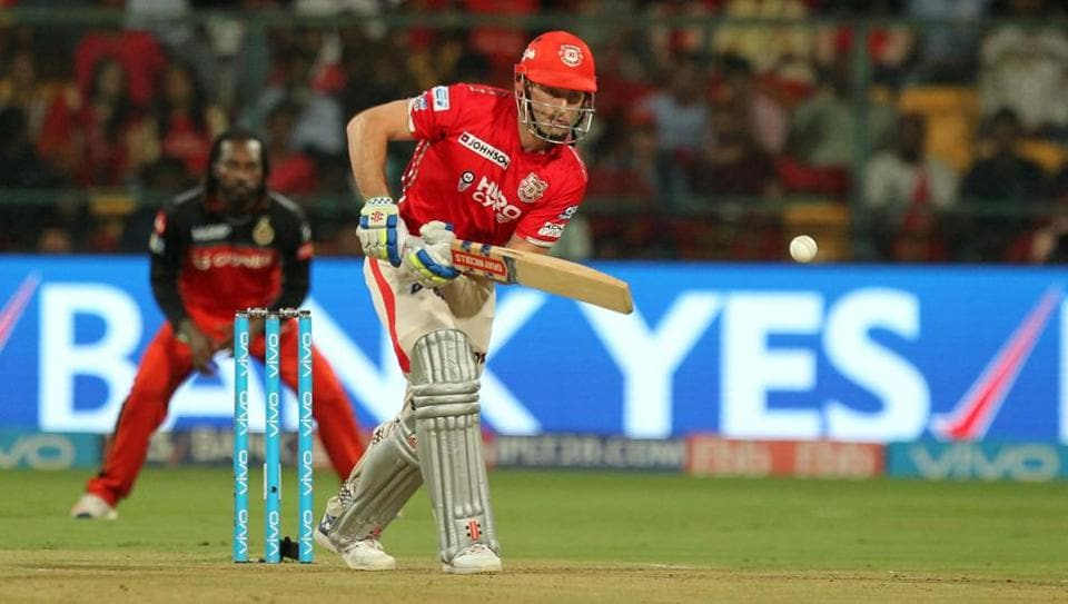 Shaun Marsh tried to steady the innings but fell to Pawan Negi in the seventh over, leaving KXIP tottering at 39/3.  (BCCI )