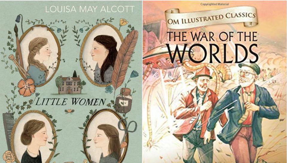 Little Women,War of the Worlds,Louisa May Alcott