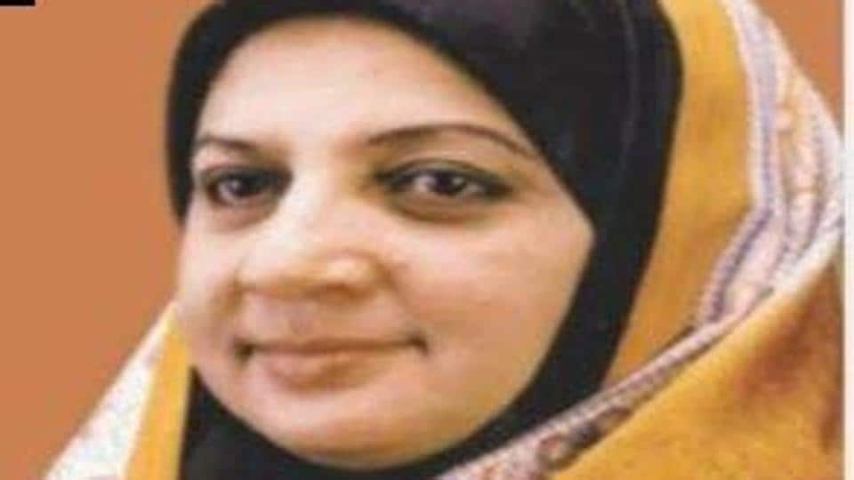 Khamarunnisa Anwar, president of IUML's women wing was removed from the post on May 6.