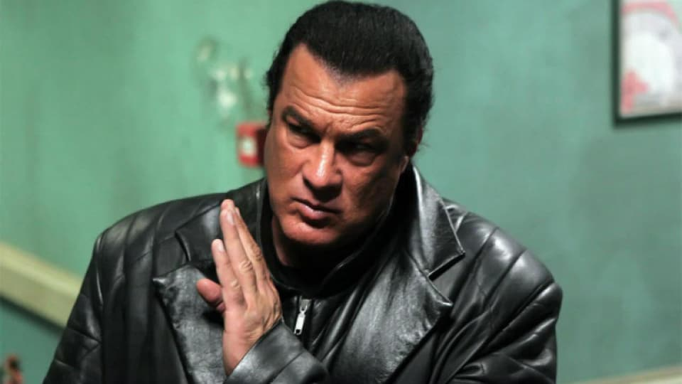 Steven Seagal starred in a string of successful movies in the '90s.