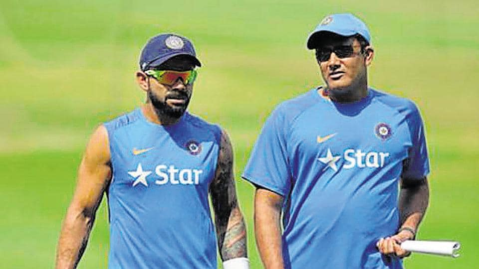 Image result for BCCI hunts for coach, Anil Kumble on sticky wicket, Less than a week after Anil Kumbl