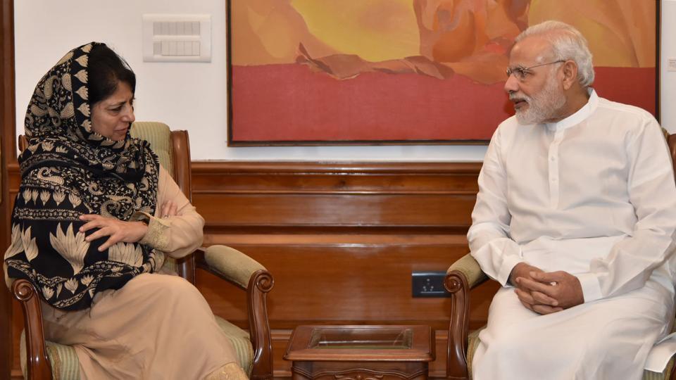 Jammu and Kashmir,Mehbooba Mufti,Narendra Modi