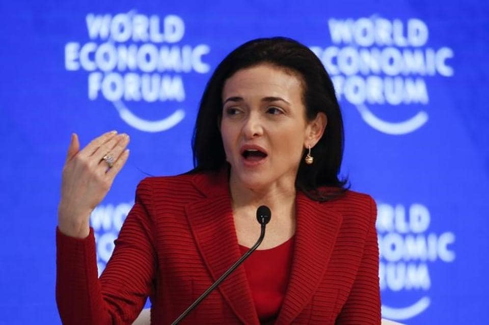Sheryl Sandberg, Chief Operating Officer of the popular social networking site, Facebook.