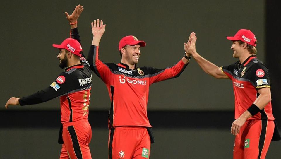Royal Challengers Bangalore batsman AB de Villiers delivered an emotional speech for his teammates.