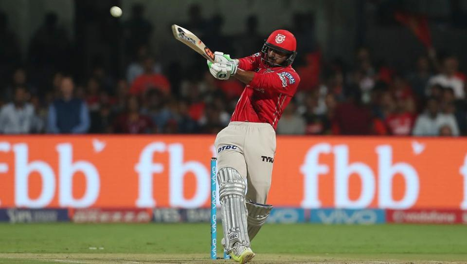 Axar Patel's late blitz revived Kings XI Punjab as they reached 138/7 in their allotted 20 overs.  (BCCI )