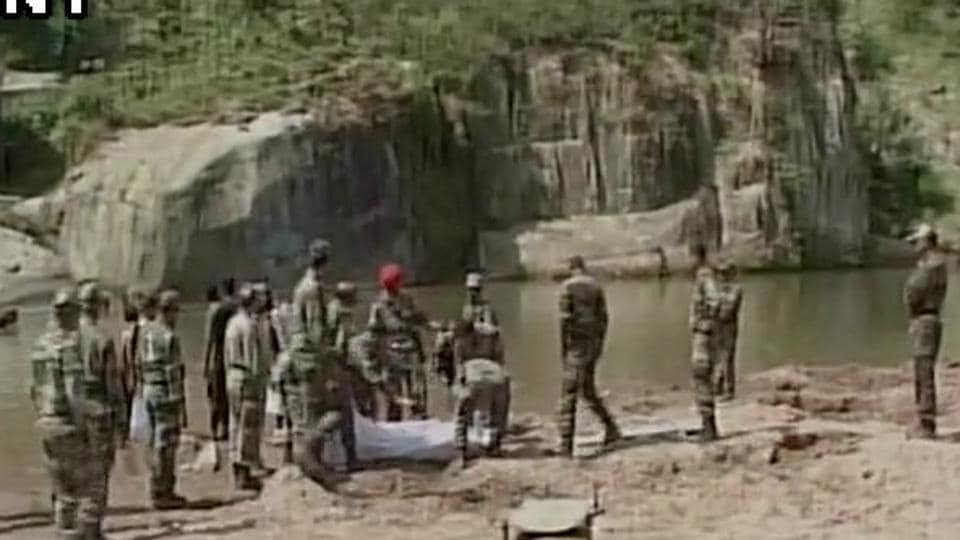 Following a search operation by the army, their bodies were recovered on Sunday.