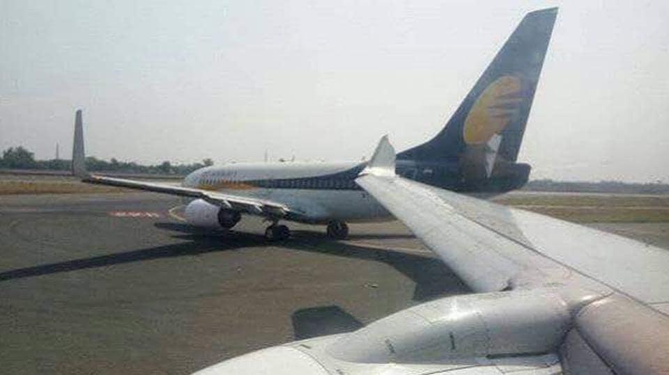 Delhi airport,Jet Airways,Delhi airport runway