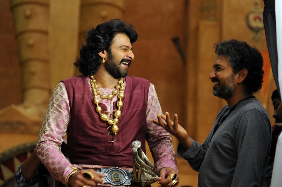 Prabhas is celebrating the success of his film.