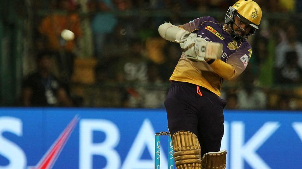 Sunil Narine's 15-ball 50 helped Kolkata Knight Riders thrash Royal Challengers Bangalore by six wickets. Live streaming and live cricket score of Sunday's 2017 Indian Premier League match between Royal Challengers Bangalore and Kolkata Knight Riders will be available online.
