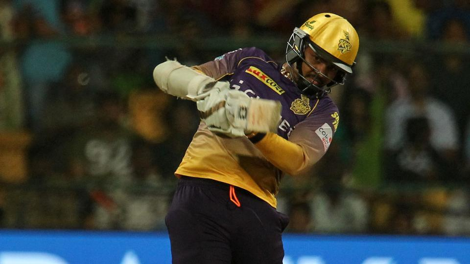 Sunil Narine blasted the joint-fastest fifty in IPLhistory off 15 balls as Kolkata Knight Riders romped home to a six-wicket win over Royal Challengers Bangalore in IPL2017 to boost them to second spot in the points table.