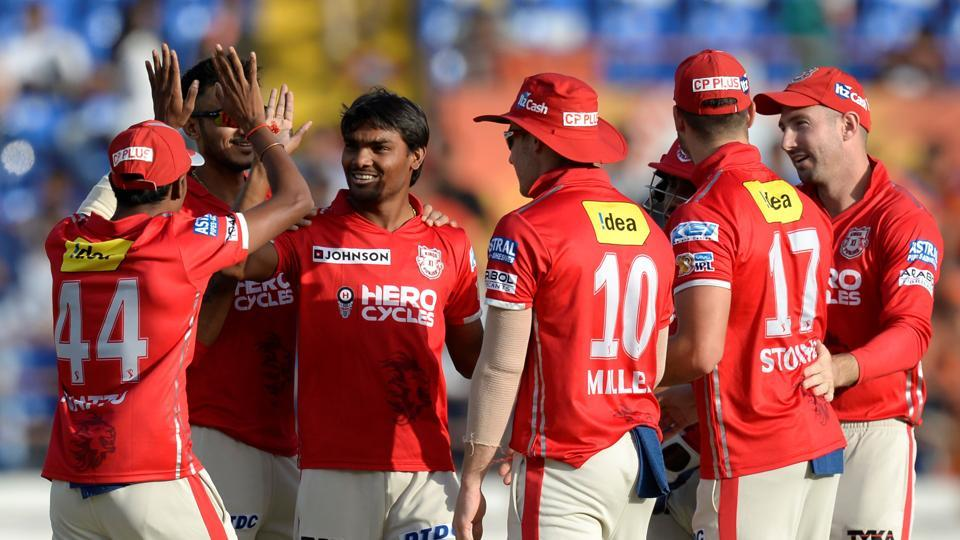 Kings XI Punjab are in fifth position and are eyeing a spot in the play-offs while Gujarat Lions are out of contention.  Catch live cricket score of KXIP vs GL here.