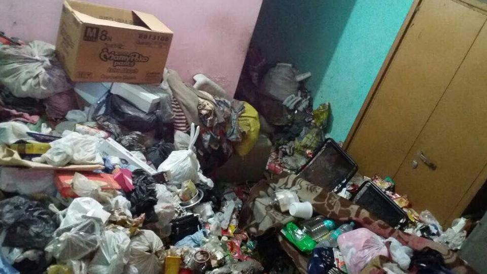 Depression,Garbage dump,Forceful confinement