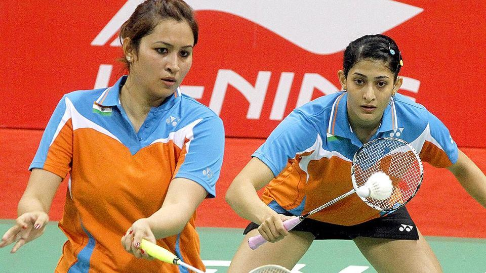 Jwala Gutta (R) has decided to take a sabbatical from badminton.