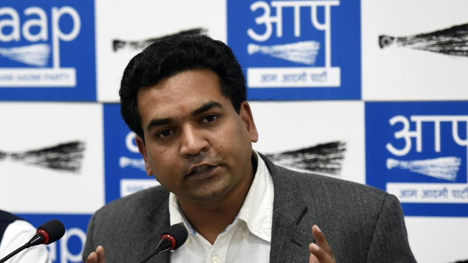 Kapil Mishra was on Saturday removed as Delhi's water and tourism minister.