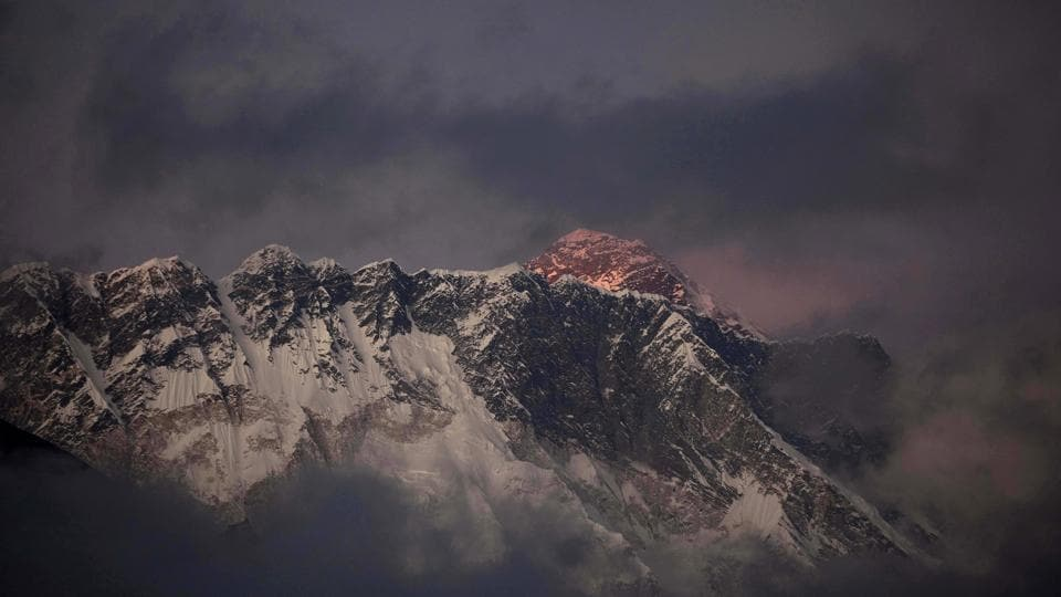 Under Nepali law, climbers have to be at least 16 years old to climb Mount Everest, but there's no upper limit.