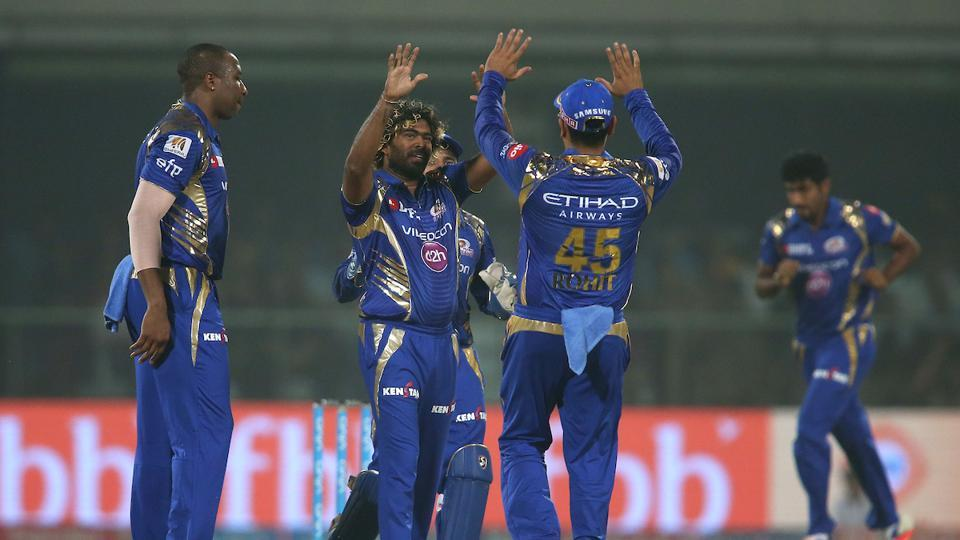 Mumbai Indians thrashed Delhi Daredevils by 146 runs to become the first team to qualify for IPL 2017 playoffs.  (BCCI )
