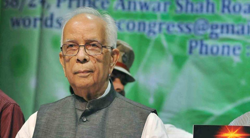 West Bengal governor Keshari Nath Tripathi.