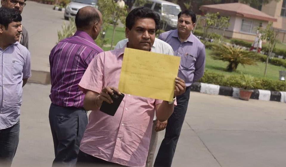Kapil Mishra sacke,AAP Crisis,Arvind Kejriwal