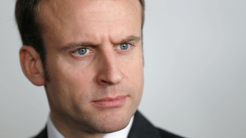 Emmanuel Macron was elected French president on May 7.