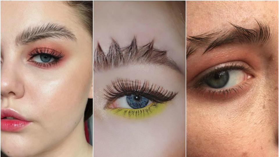These weird brow trends are the latest on the block.
