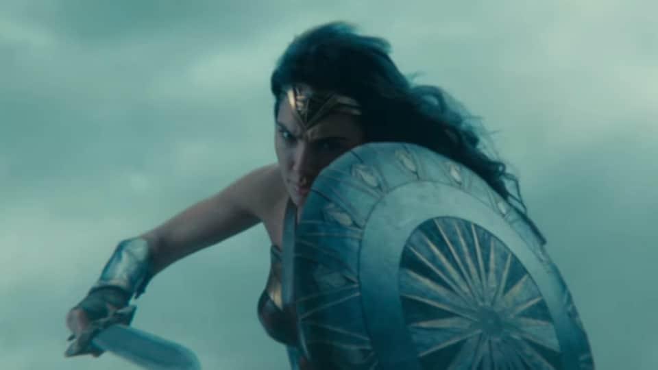 Wonder Woman,Gal Gadot,Wonder Woman Trailer