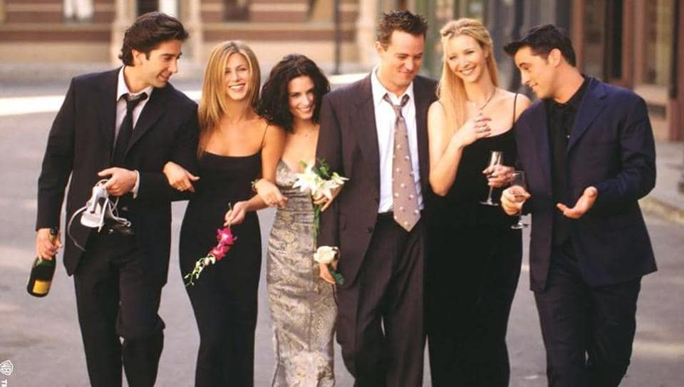 The poster of popular American television sitcom, F.R.I.E.N.D.S