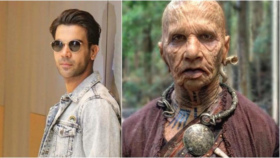 Actor Rajkummar Rao says a special team from Los Angeles was brought in for his look in Raabta.