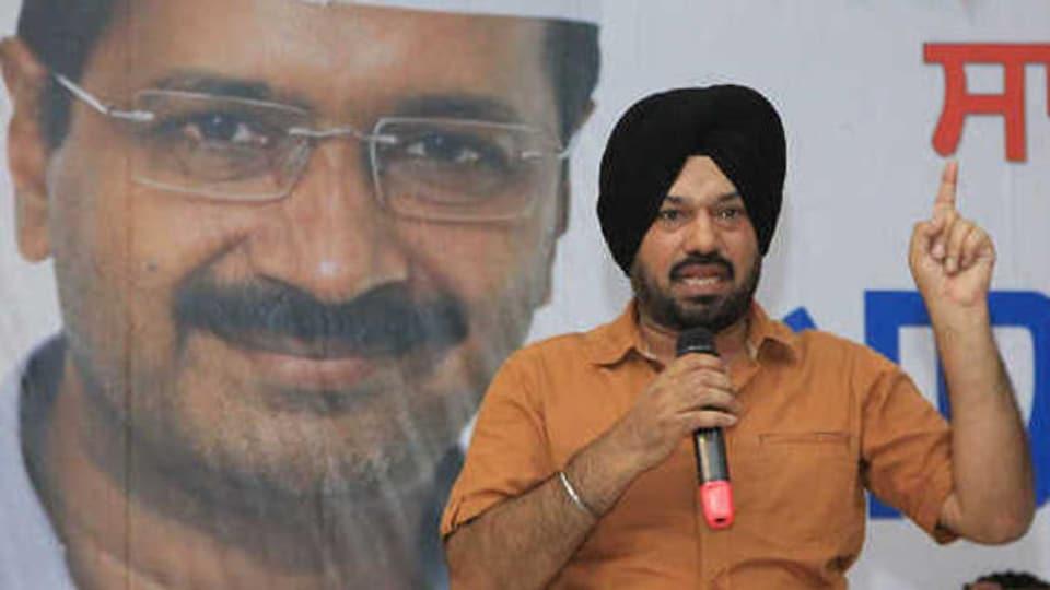 AAP Punjab convener Gurpreet Singh Waraich