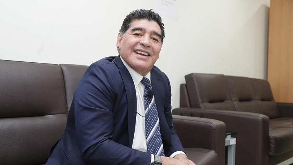 Diego Maradona has returned to competitive football coaching after five years.
