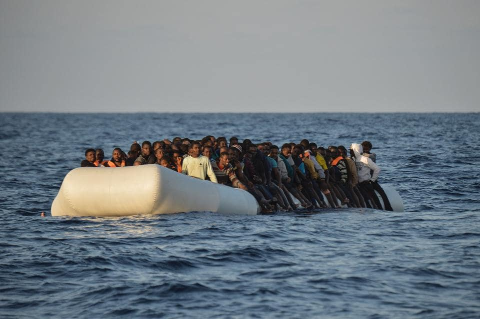 The number of people leaving Libya in the hope of starting a new life in Europe is up nearly 50% this year compared with the opening months of 2016.