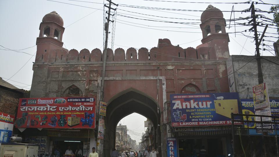 Ghaziabad,municipal corporation,city walls