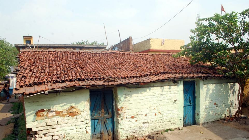 House in which Shashi Panday resided . Now his parents are living in this house located at Jorapokhar in Dhanbad.