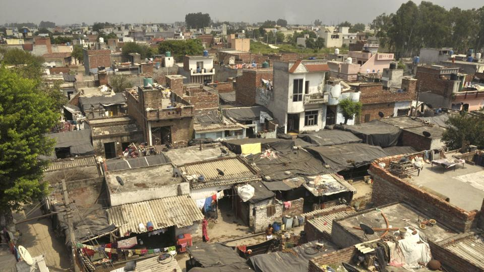 slum dwellers,Jalandhar,detailed project report