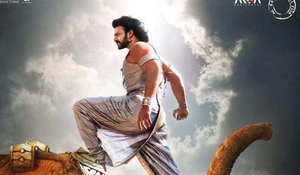 Prabhas as Baahubali in Baahubali 2: The Conclusion.