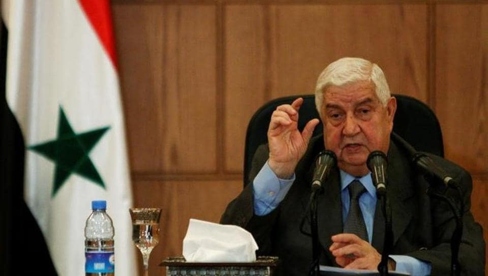 Syria,foreign minister Walid al-Moualem,Nusra Front