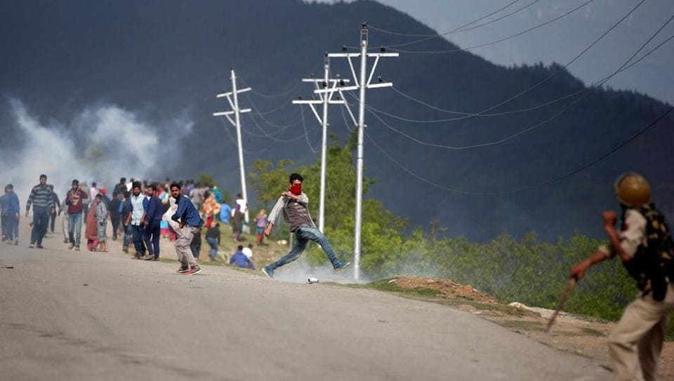 Protests spurted across Kashmir after the killing of militant Burhaan Wani by security forces in July last year.