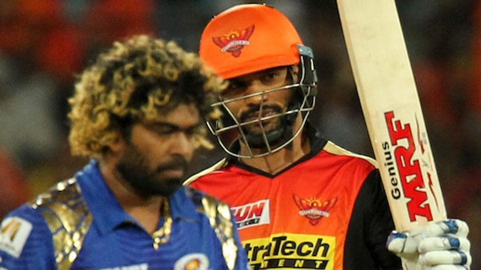 IPL 2017,live cricket score,Sunrisers Hyderabad vs Mumbai Indians