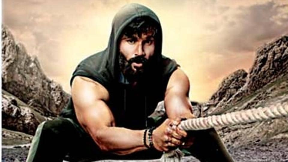 Suniel Shetty's new look for his TV show.