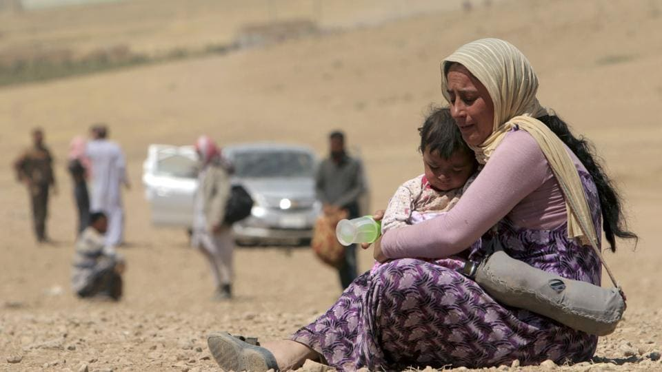 In August 2014, Islamic State militants launched an assault on the Yazidi religious community's heartland in Sinjar, northern Iraq, home to around 400,000 Yazidis.