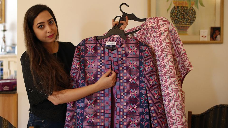 Palestinian Fashion Designer Breathes New Life Into Tradition Fashion And Trends Hindustan Times