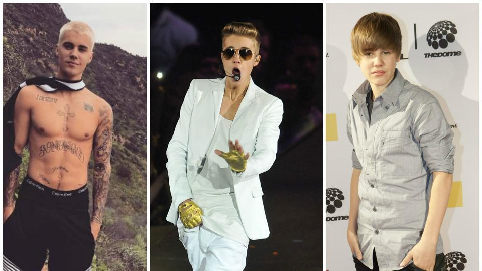 Here's a look at Justin Bieber and his style journey.